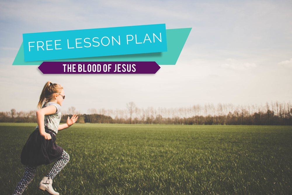 Mercy in the Blood of Jesus PLUS Free Lesson Plan!