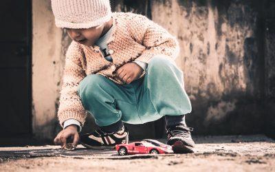 Leading Small Children through Deliverance